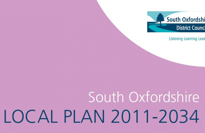 SODC Local Plan cover