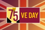 VE Day graphic